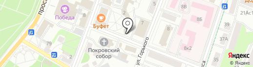Фонд развития бадминтона Александра и Анастасии Русских на карте Гатчины