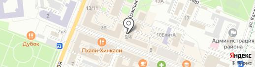 Кенгуру на карте Гатчины
