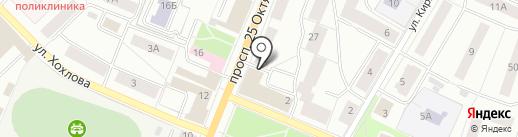 Ленинградская областная коллегия адвокатов на карте Гатчины