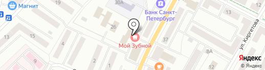 Ростелеком, ПАО на карте Гатчины