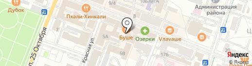 Калейдоскоп на карте Гатчины
