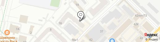 Сопровождение на карте Гатчины