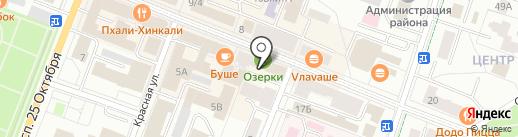 Томатис-Петербург на карте Гатчины