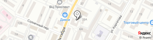 Avon на карте Гатчины