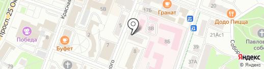 Гатчинский городской суд на карте Гатчины