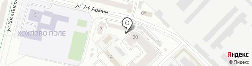 АРУС на карте Гатчины