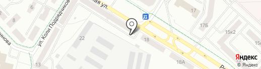 Аптека №125 на карте Гатчины