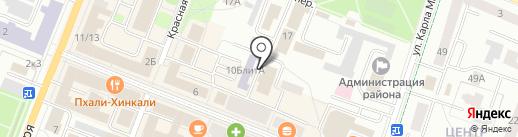 Шармания на карте Гатчины