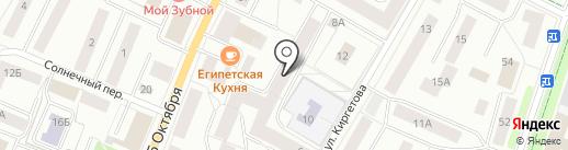 Гатчинская городская детская библиотека на карте Гатчины