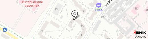 Фристайл на карте Гатчины