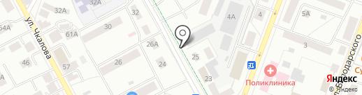 Арго на карте Гатчины