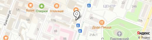ГАЛАКТИКА на карте Гатчины
