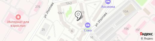 Ситилаб на карте Гатчины