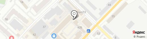 Мастер Пласт на карте Гатчины