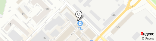Камилла на карте Гатчины