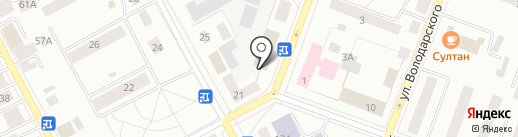Пятёрочка на карте Гатчины