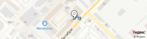 ЛенЭнерго, ПАО на карте Гатчины