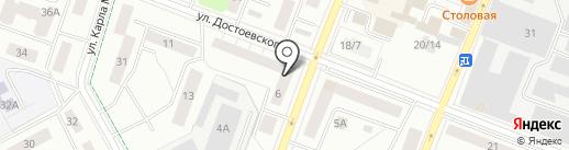 Есения на карте Гатчины