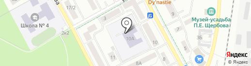ИнжеС на карте Гатчины