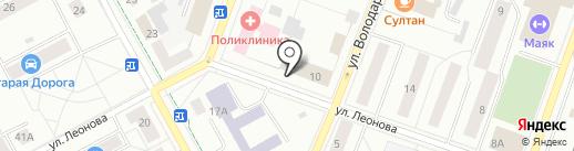 Парикмахерская на карте Гатчины