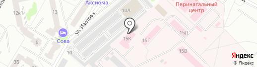 Гатчинский морг на карте Гатчины