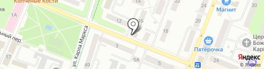 Участковый пункт полиции на карте Гатчины