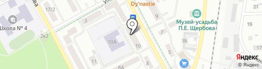 ЦААС на карте Гатчины