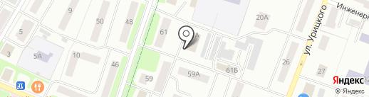 Территориальный орган Федеральной службы государственной статистики по г. Санкт-Петербургу и Ленинградской области на карте Гатчины