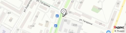 У Гайки на карте Гатчины