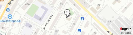 Управление Ленинградской области по государственному техническому надзору и контролю на карте Гатчины