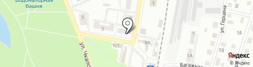 Тыква на карте Гатчины