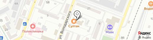 РоссельхозБанк на карте Гатчины