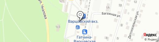 Банкомат, Банк ВТБ 24 на карте Гатчины