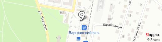 Магазин женской и мужской одежды на карте Гатчины