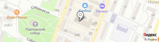 Кошкин дом на карте Гатчины