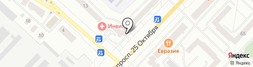 Хеликс на карте Гатчины
