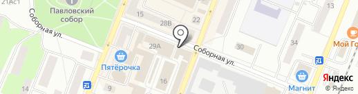 Булочная на карте Гатчины
