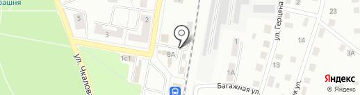 Сеть платных туалетов на карте Гатчины