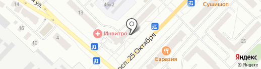 Tokyo-City на карте Гатчины