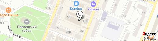 Меха из Пятигорска на карте Гатчины