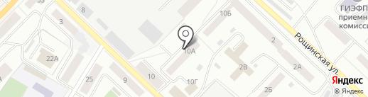 Прачечное оборудование на карте Гатчины