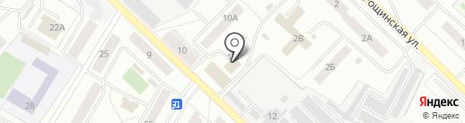 Инком на карте Гатчины
