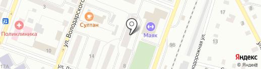 Престиж на карте Гатчины
