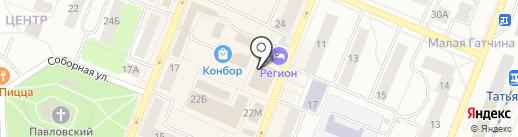 Linzyonline.ru на карте Гатчины