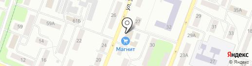 Оськин Кот на карте Гатчины