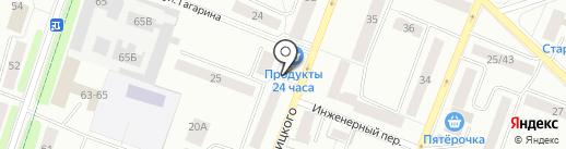 Аптека на карте Гатчины