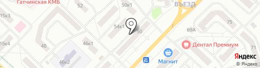 Бильярдный клуб на карте Гатчины