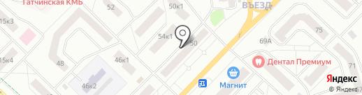 GTN.QUEST на карте Гатчины