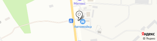Автомойка самообслуживания на карте Гатчины