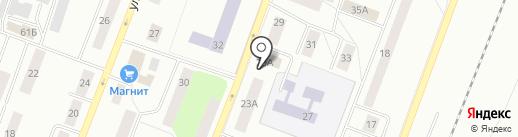 Водогрей на карте Гатчины